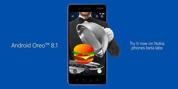 Android 8.1 Oreo Nokia 8