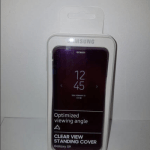 Clear View Standing Cover Galaxy S9 3