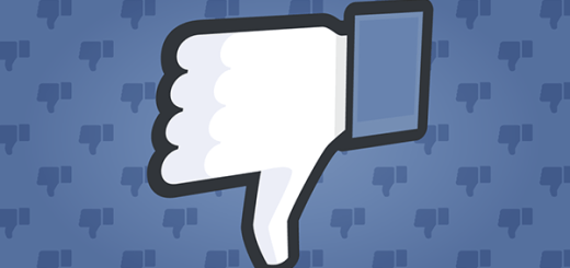 Facebook-downvote