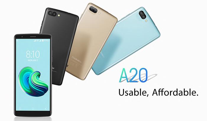 BlackView-A20-smartphone