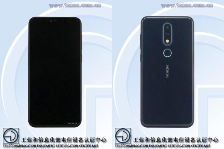 TENAA-Nokia-X6