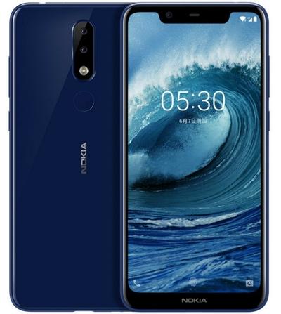 Nokia-X5-blauw