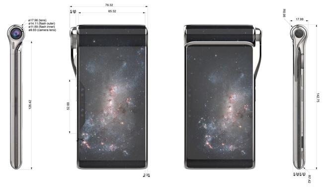 HubblePhone-afmetingen