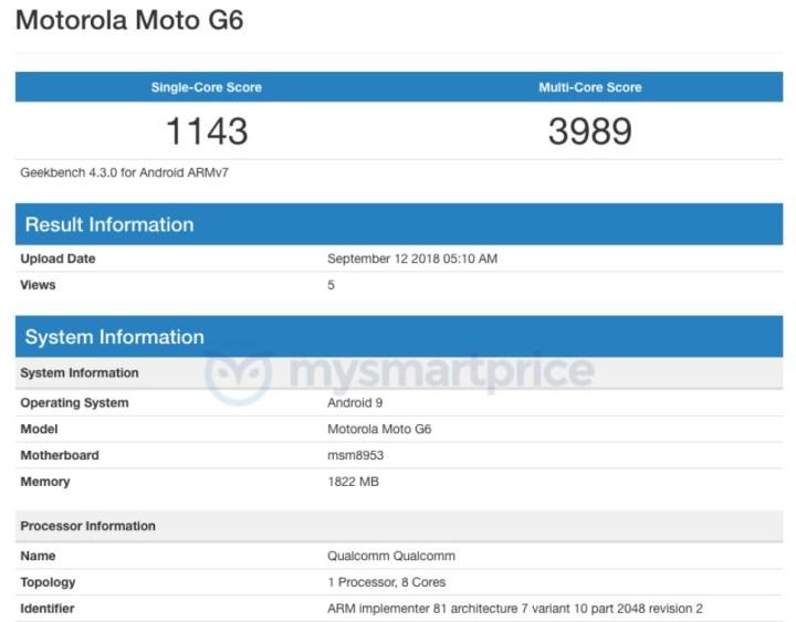 Motorola-Moto-G6-Android-9-Pie-Geekbench