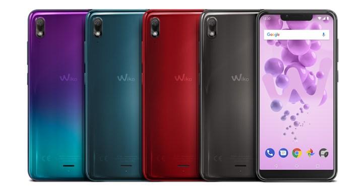 Wiko-View2-Go-kleuren