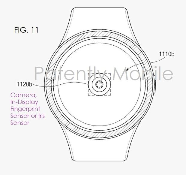 Samsung-smartwatch-in-display-vingerafdrukscanner