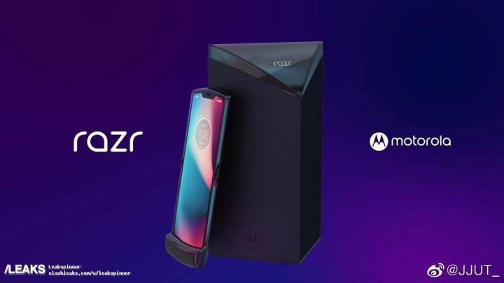 opvouwbare Motorola Razr