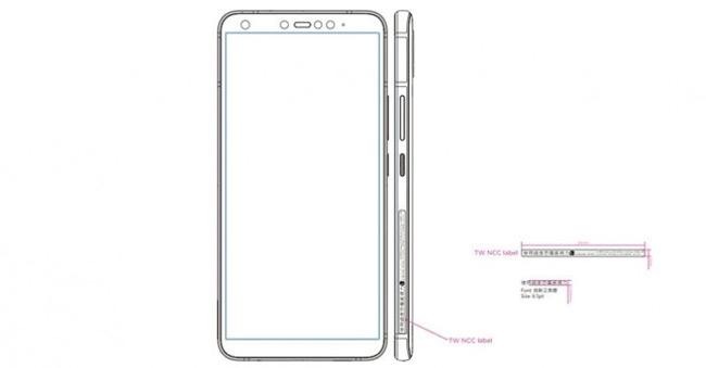 HTC-U19e-schets
