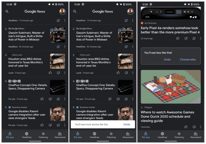 Google_Nieuws-donker-thema