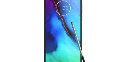 Motorola-smartphone-met-stylus