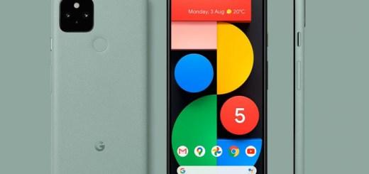 Google-Pixel-5-Groen-render