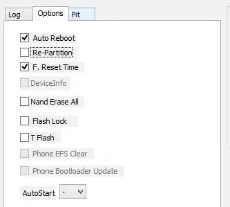 Odin Auto Reboot