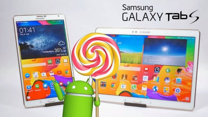 Galaxy Tab S 8.4 LTE (SM-T705) - Android 5.0 Lollipop Rollout in Hong Kong gestartet 1