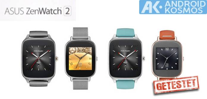 Test / Review: ASUS ZenWatch 2 (WI501Q) Smartwatch mit unboxing Video 41