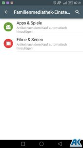 Play Store: Family Library und neue Kategorien 7
