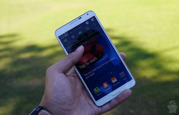 Drop Test Galaxy Note 3