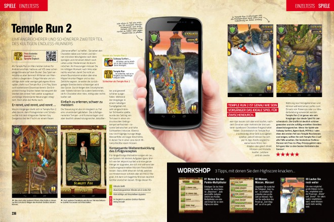Einzeltest: Temple Run 2