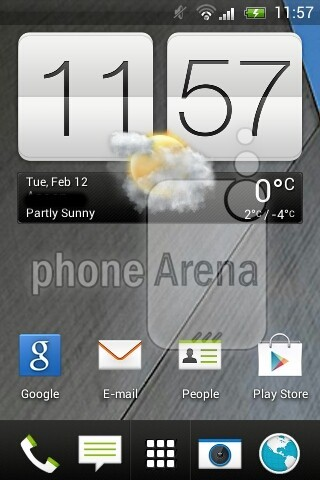 Laut PhoneArena sieht HTC Sense 5 so aus (Bildquelle: PhoneArena)
