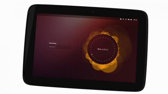 Auch auf den Tablets versucht sich Ubuntu zu verbreiten.