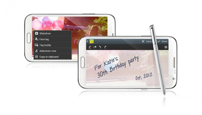 Der Nachfolger des Galaxy Note 2 soll ebenfalls auf der IFA in Berlin präsentiert werden. Foto: Samsung.