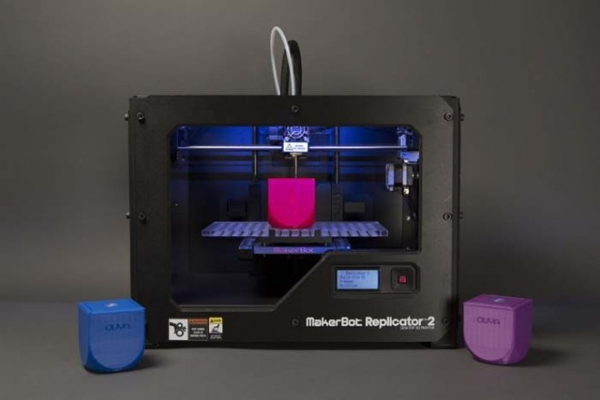 Der neue Replicator darf auch zum Drucken von Gehäusen für die Ouya herhalten (Bildquelle: thingiverse)