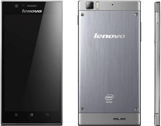 Das neue High End-Smartphone von Lenovo, da K900, wir von einem 2 GHz-Intel-Prozessor angetrieben. Foto: Lenovo