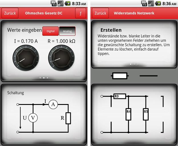 In der Formelsammlung finden sich vom Ohmschen Gesetz über die Parallelschaltung bis hin zur Lichtstärke alles, was der Elektrotechniker in der Anwendung wissen muss.