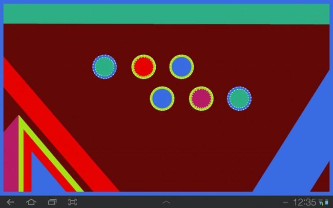 Deine Aufgabe ist es, das gesamte Rechteck in der Farbe der Umrandung einzufärben und durch logisches Denken, die Reihenfolge der Züge zu bestimmen.