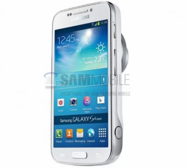 So könnte das Samsung Galaxy S4 Zoom aussehen. Foto:Sammobile.