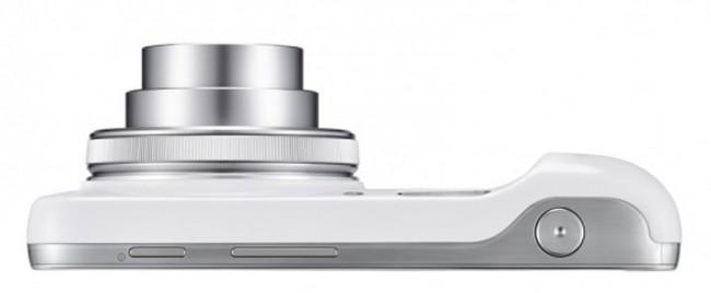 Die Kamera des Galaxy S4 Zoom besitzt einen 16 Megapixel CMOS Sensor mit einem optischen Bildstabilisator und einem 24-240 mm 10-Fach Zoom Objektiv.