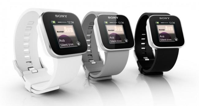 Aktuell erhältliche Sony Smartwatch mit unterschiedlichen Armbändern / Bildquelle: Sony