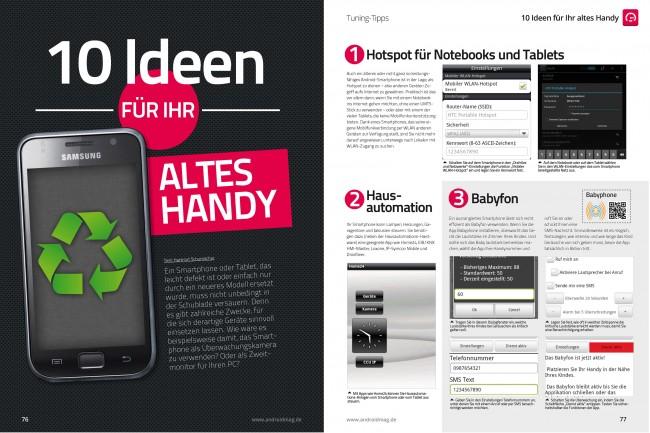 """Tuning-Tipp """"10 Ideen für Ihr altes Handy"""""""