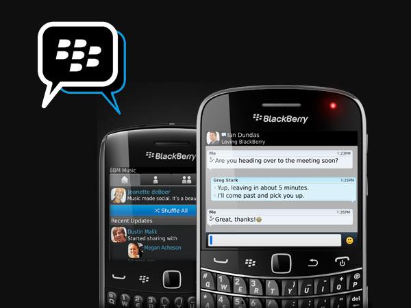 Bald können Nachrichten auch über den BlackBerry Messenger für Android und iOS versendet werden.