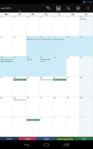 Business Calendar 10