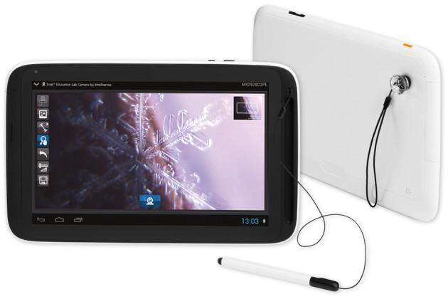 Sollen beim Lernen helfen: Intel Education Tablets. (Foto: talkdroid)
