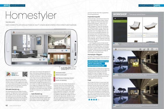 Einzeltest: Homestyler