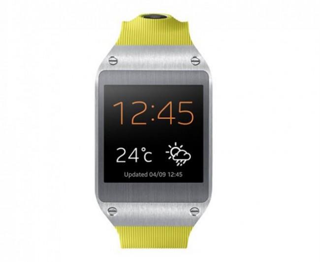Die Galaxy Gear kommt mit 12 Apps auf den Markt. (BQ: Samsung)