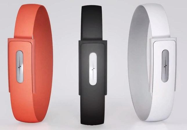 Der Nymi-Armreifen ist in drei Farben verfügbar...