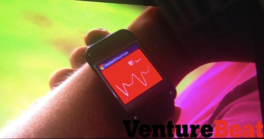 Die Samsung Smartwatch soll zum Tracken von Gesundheitsdaten einsetzbar sein. Foto: VentureBeat.