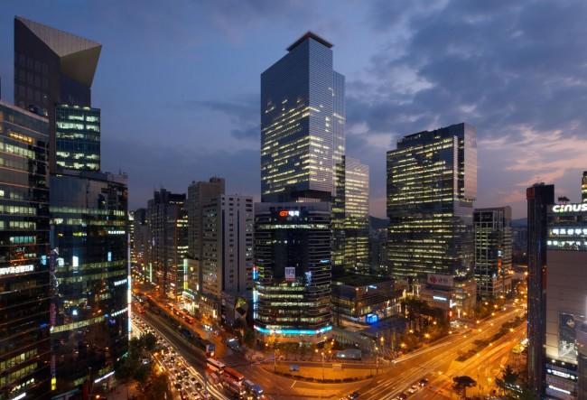 Samsung Town: In Seoul, der Hauptstad Südkoreas, wurde ein ganzer Bezirk nach dem Elektronikriesen benannt.