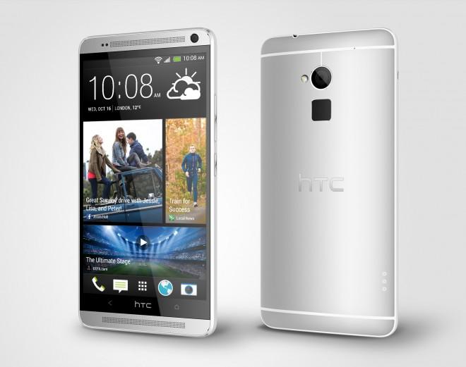 Das HTC One Max im Glacial-Silver Design. (Quelle: androidnext,.de)