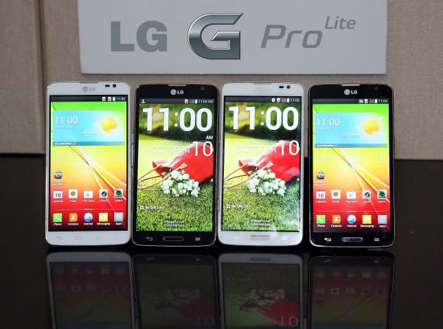 Das LG G Pro Lite kommt mit einem 5,5 Zoll großen Display und mittelklassiger Hardware auf den Markt. Foto: Android Authorithy.