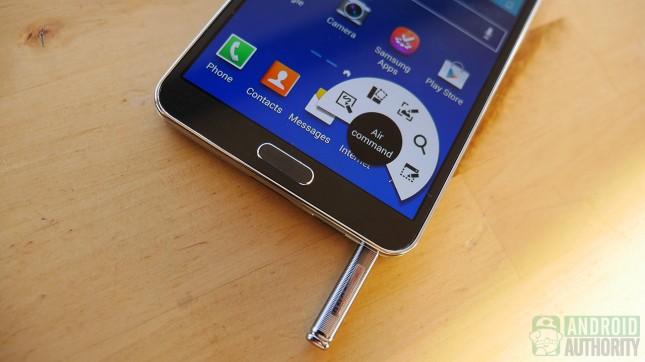 Das Galaxy Note 3 punktet aufgrund seiner zahlreichen Softwarefunktionen. Foto: Android Authority.