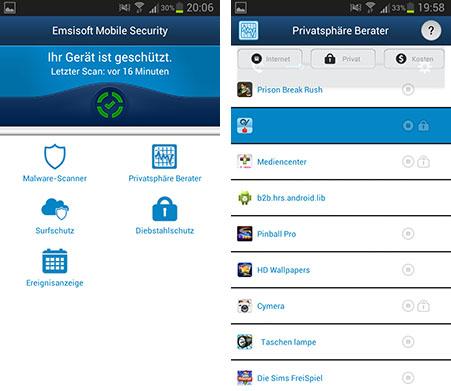 Effektiven Schutz vor Malware durch Emsisosft Mobile Security