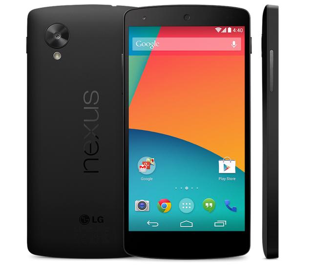 Das Nexus 5 kann ab sofort vorbestellt werden, die Vorstellung des Smartphones soll bereits heute Abend über die Bühne gehen. Foto: Android Authority.