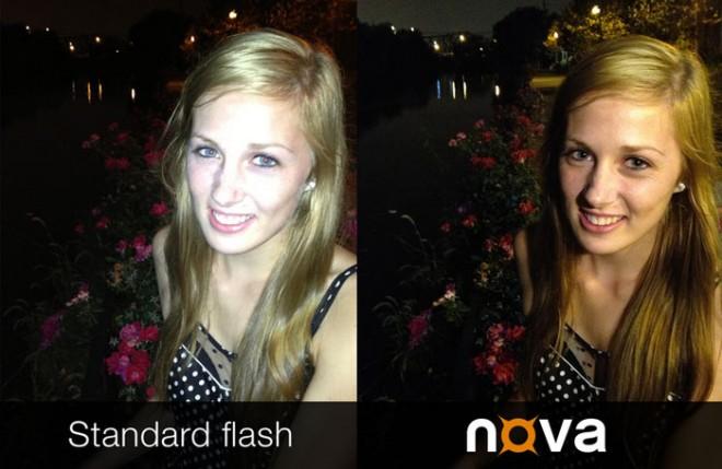 Mit dem Nova-Blitz wirken die Aufnahmen natürlicher. (Foto: Kickstarter)