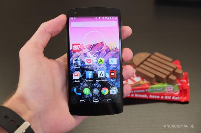 Diesen Launcher wird man auf dem Nexus 7 bzw. 10 vergeblich suchen.