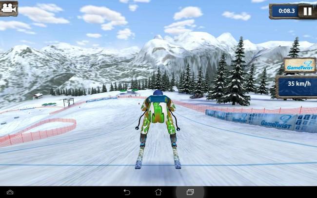 Auch dieses Jahr geht es wieder auf den virtuellen Pisten rund.