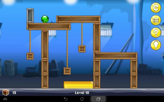 Unterschiedliche Spielelemente, wie zum Beispiel Seile sorgen für Abwechslung.