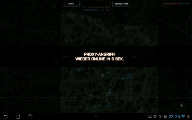 Der gegnerische Commander kann via Proxy-Angriff für eine kurze Zeit außer Gefecht gesetzt werden.